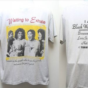 1995 Vintage WAITING TO EXHALE Specialty Rap Tee